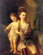 Anne Gardiner with her Eldest Son Kirkman Hone, Nathaniel